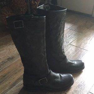 Frye Coach Boots